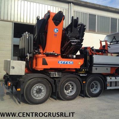 Consegna gru EFFER 1355Cross stab a V